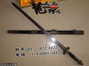 精品双龙剑|龙泉宝剑|花纹钢|★★★|