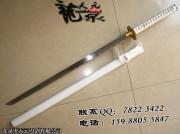 白雪直刀(加刀镡)|唐刀|中碳钢|★★