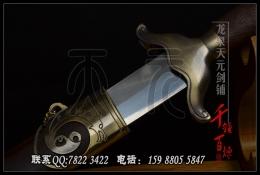 基础版宝龙太极剑 软剑 武术剑 晨练宝剑
