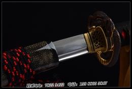 八歧大蛇花纹钢烧刃武士刀|花纹钢烧刃|武士刀|★★★★