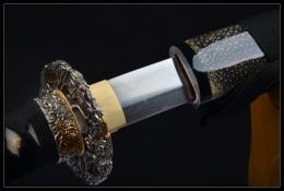 银龙花纹钢烧刃武士刀|花纹钢|武士刀|★★★★
