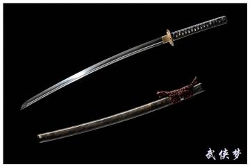 丸止烧刃武士刀|高碳钢钢|武士刀|★★★★