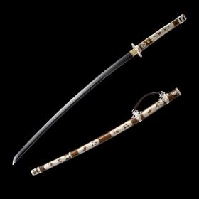 吉野精品太刀|武士刀|花纹钢|★★★★