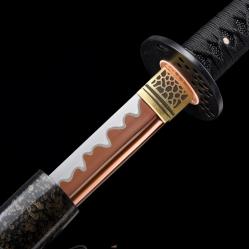 血峰研白武士刀|高碳钢60锰|武士刀|★★★