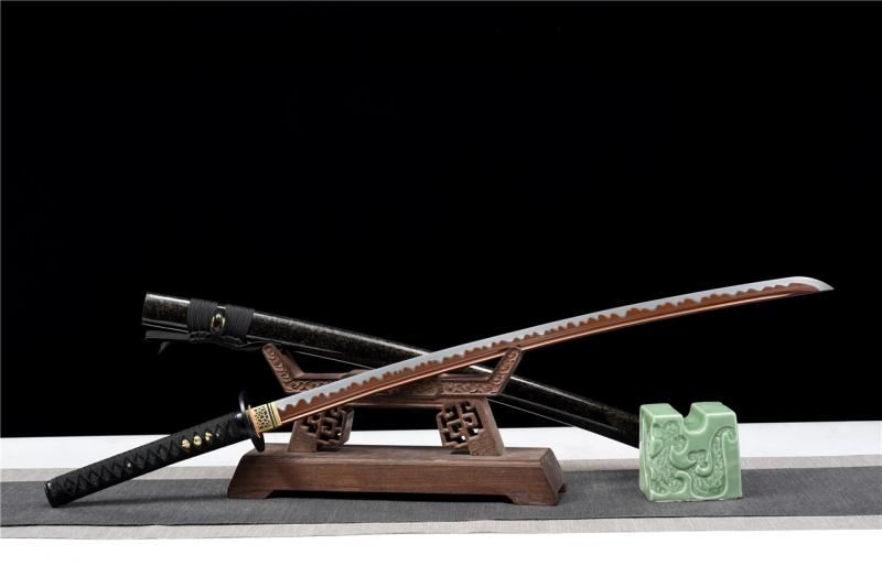 血峰研白武士刀|高碳钢60锰|武士刀,日本武士刀图片,一体刀专卖,武士刀价格