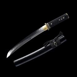 菊花短刃 花纹钢烧刃 武士刀 ★★★